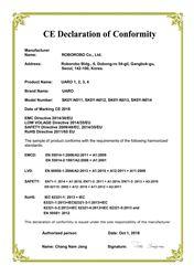 Chứng nhận CE cho sản phẩm UARO