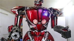 THẬT KHÔNG THỂ TIN NỔI ! Transformer khổng lồ từ rác thải nhựa
